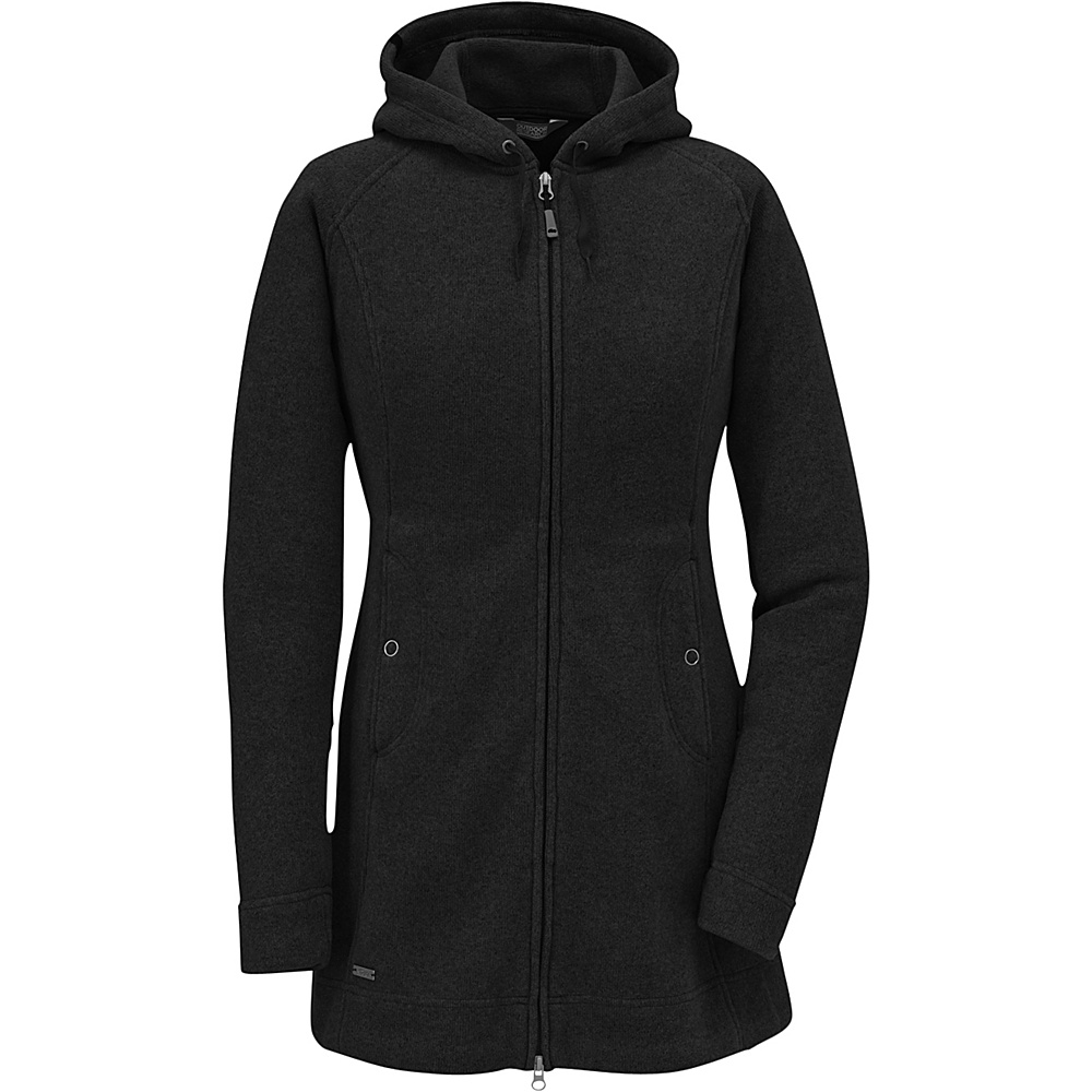 Outdoor Research Womens Longitude Hoody S - Black - Outdoor Research Womens Apparel - Apparel & Footwear, Women's Apparel