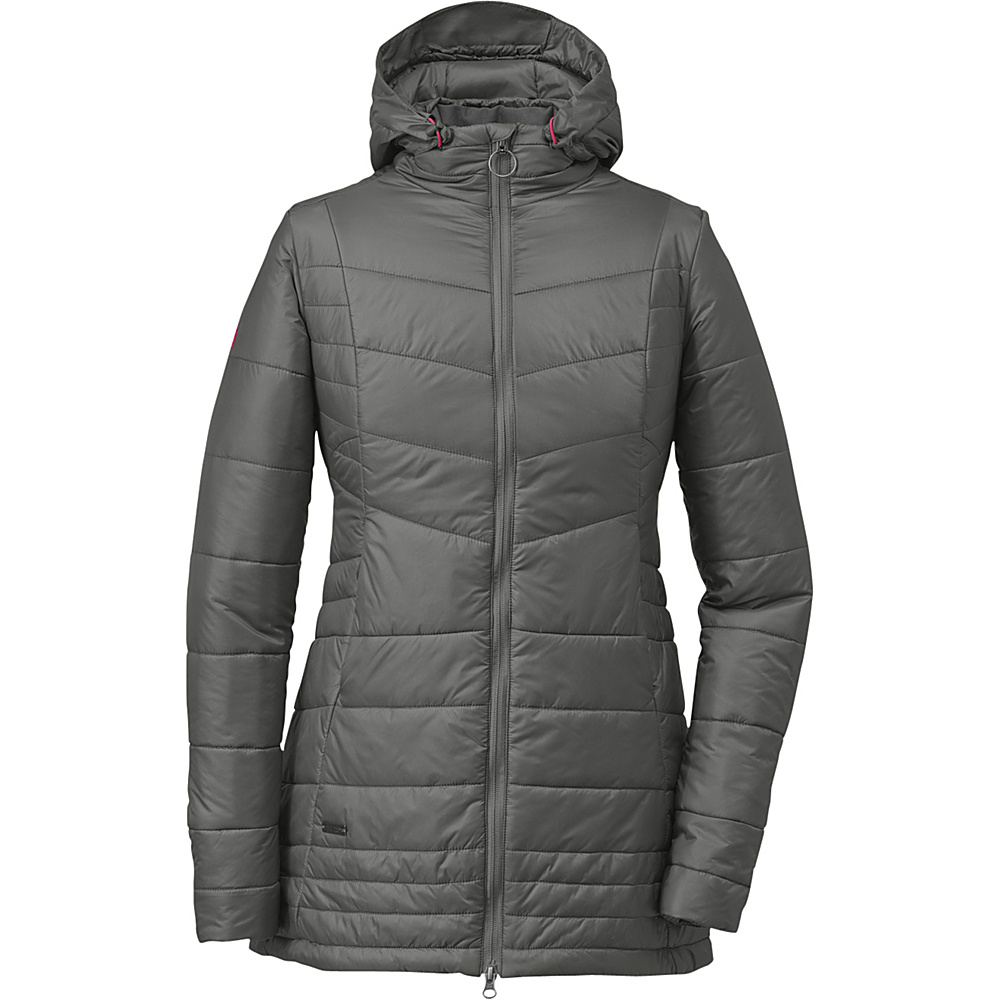Outdoor Research Womens Breva Parka L - Pewter/Desert Sunrise - Outdoor Research Womens Apparel - Apparel & Footwear, Women's Apparel