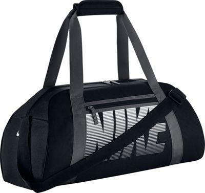 Nike Women's Gym Club Bag BLACK/DARK GREY//WHITE - Nike Gym Duffels