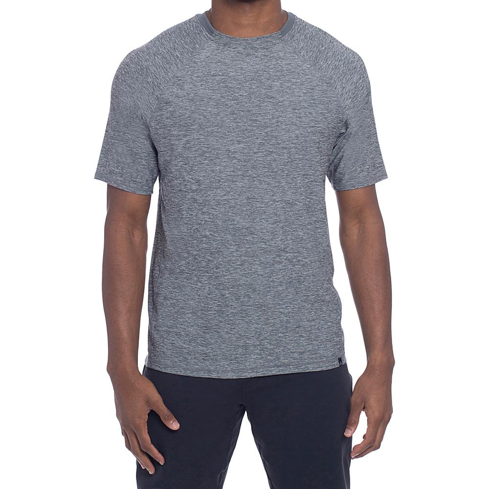 Soybu Mens Levity Short Sleeve 2XL - Storm - Soybu Mens Apparel - Apparel & Footwear, Men's Apparel