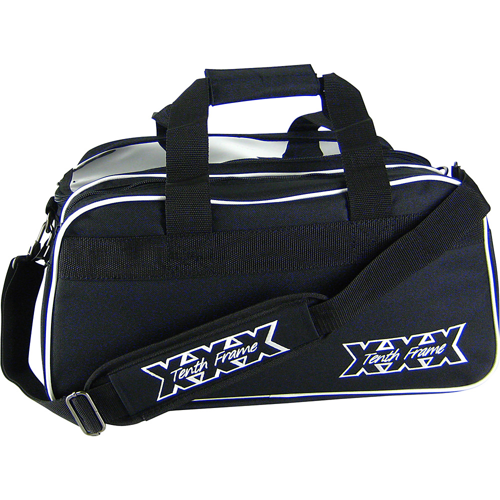 Tenth Frame Boost Double Tote Plus Black - Tenth Frame Bowling Bags