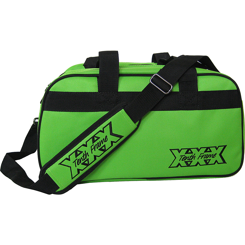 Tenth Frame Boost Double Tote Plus Lime - Tenth Frame Bowling Bags