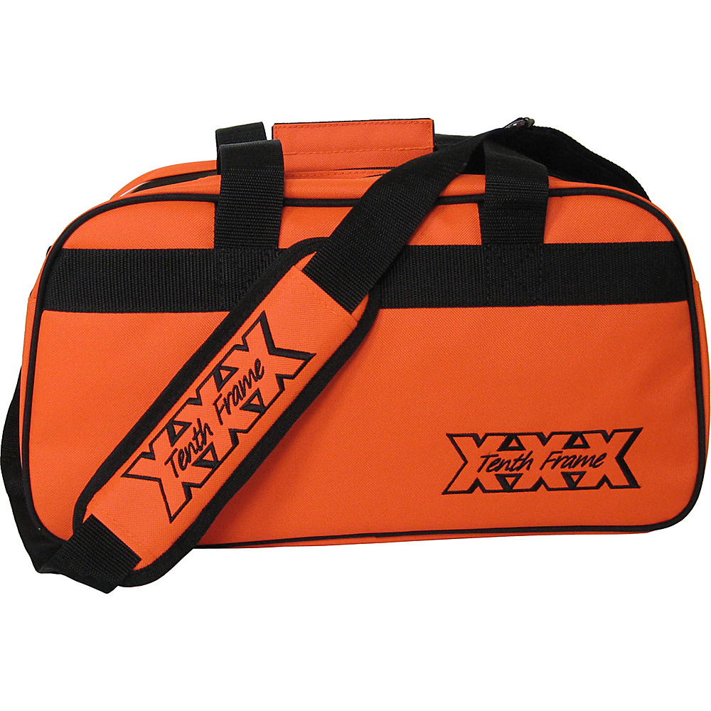 Tenth Frame Boost Double Tote Plus Orange - Tenth Frame Bowling Bags
