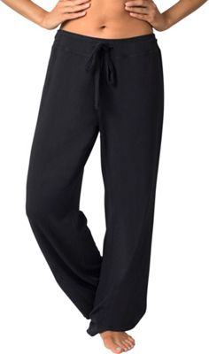 Soybu Stretch Cotton Modal Lounge Pant L - Black - Soybu Women's Apparel