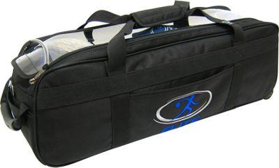Elite Bowling Express Triple Bowling Bag Black - Elite Bowling Bowling Bags