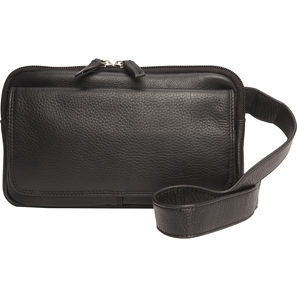 Derek Alexander Multi Compartment Organizer Crossbody Black - Derek Alexander Leather Handbags - Handbags, Leather Handbags