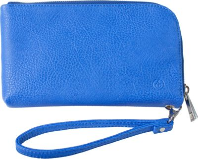 Chic Buds Chic Buds Clutchette Power Cobalt - Chic Buds Manmade Handbags