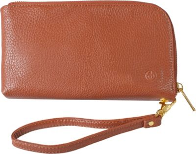 Chic Buds Clutchette Power Cognac - Chic Buds Manmade Handbags