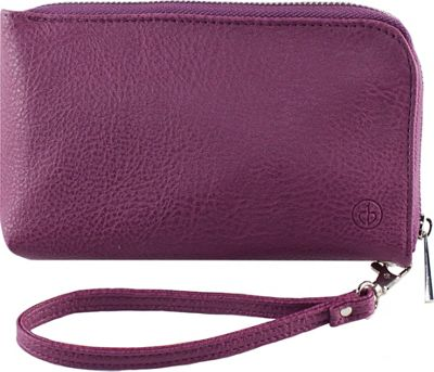 Chic Buds Clutchette Power Plum - Chic Buds Manmade Handbags
