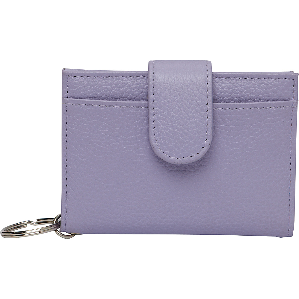 Buxton Hudson Pik-Me-Up Tab Card Case Wisteria - Buxton Womens Wallets - Women's SLG, Women's Wallets