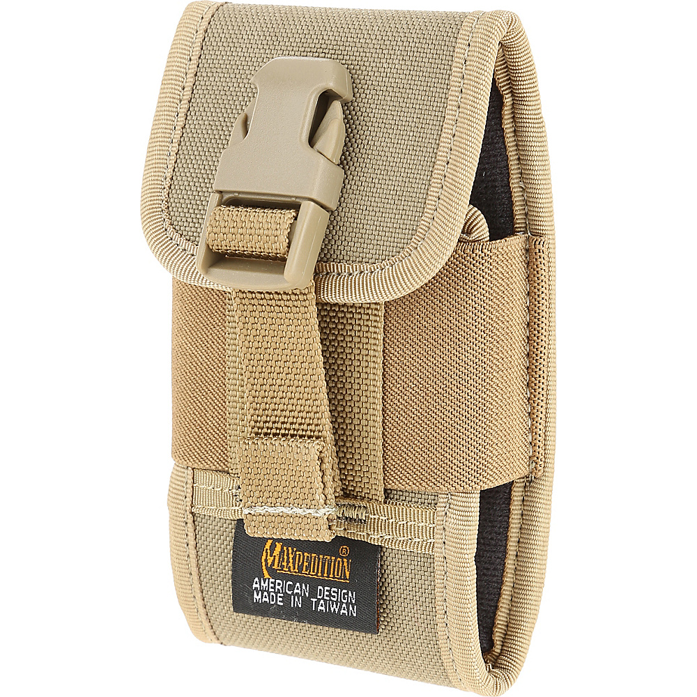 Maxpedition Vertical Smart Phone Holster Khaki Maxpedition Electronic Cases