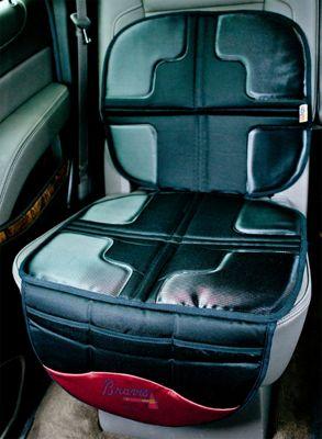 Lil Fan MLB Seat Protector Atlanta Braves - Lil Fan Trunk and Transport Organization