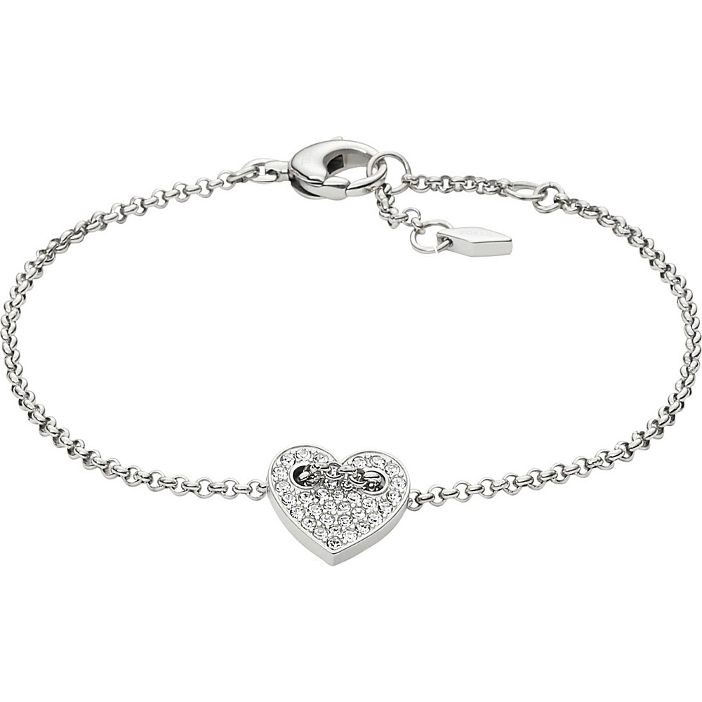 Fossil Heart Bracelet Silver - Fossil Other Fashion Accessories - Fashion Accessories, Other Fashion Accessories