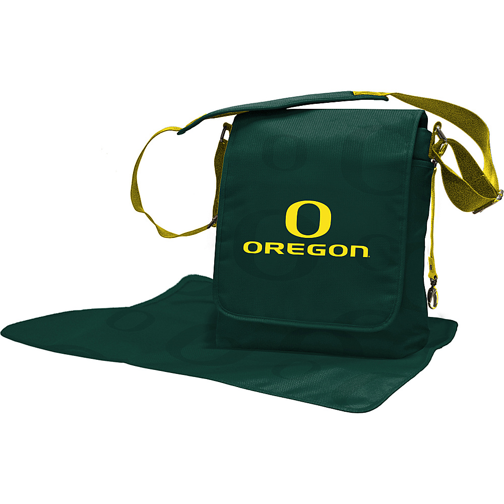 Lil Fan PAC-12 Teams Messenger Bag University of Oregon - Lil Fan Diaper Bags & Accessories
