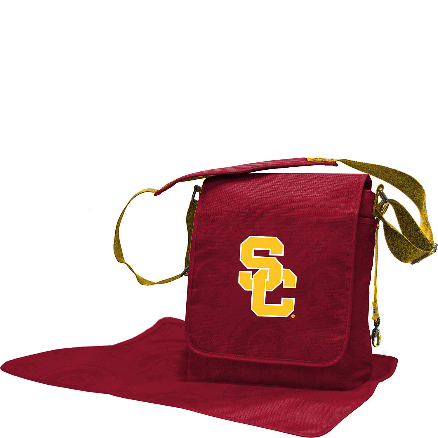 lil fan pac 12 teams messenger bag. Black Bedroom Furniture Sets. Home Design Ideas