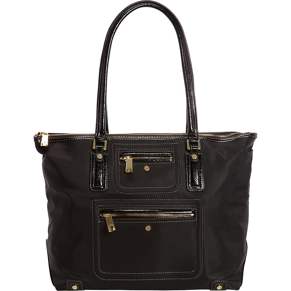 Tutilo Portable Top Zip Tote with Organization Black - Tutilo Ladies' Business