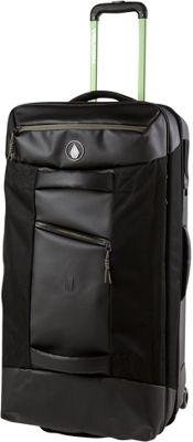 Volcom Globetrotter Luggage Black - Volcom Softside Checked