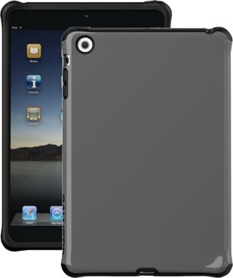 Image of Ballistic iPad Mini With Retina Display/iPad Mini Urbanite Case Black/Dark Charcoal - Ballistic Laptop Sleeves