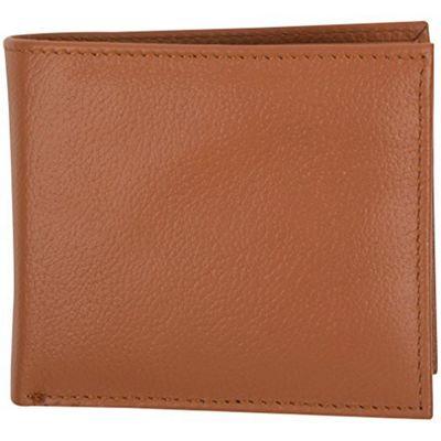 Access Denied Men's RFID Blocking Leather Wallet Bifold 11 Slot Secure Flip ID Saddle Tan - Access Denied Men's Wallets