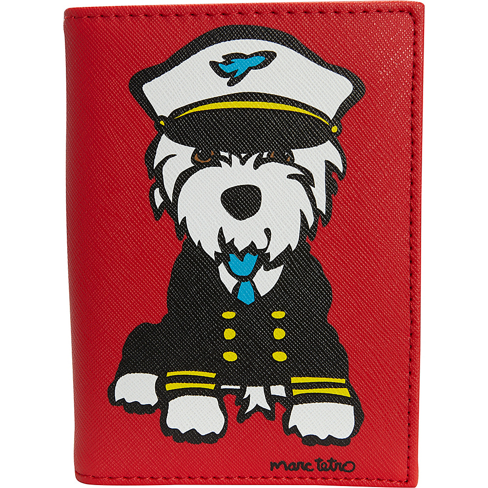 marc tetro Passport Case Westie - marc tetro Travel Wallets