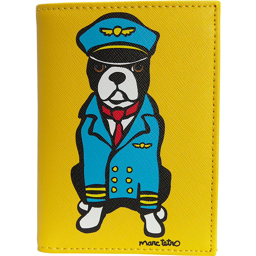 marc tetro Passport Case Boston Terrier - marc tetro Travel Wallets