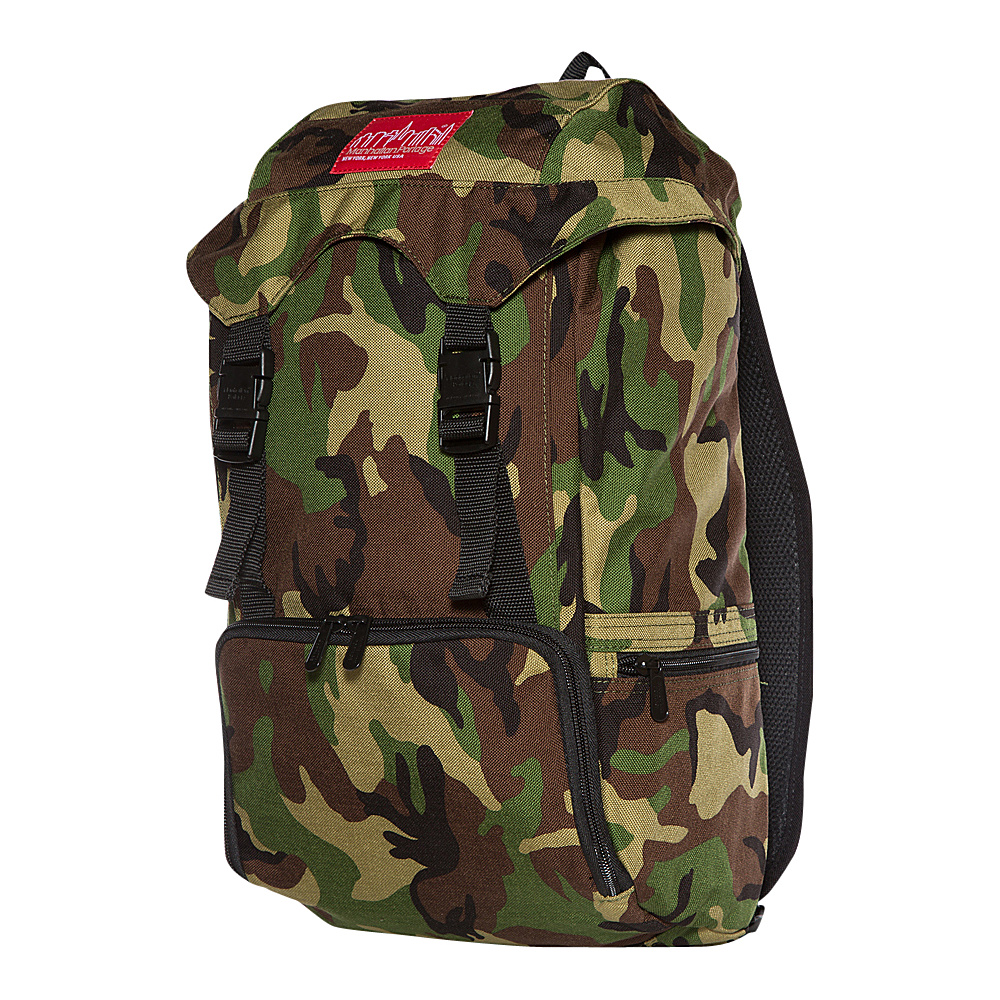Manhattan Portage Hiker Backpack JR Camouflage - Manhattan Portage Day Hiking Backpacks