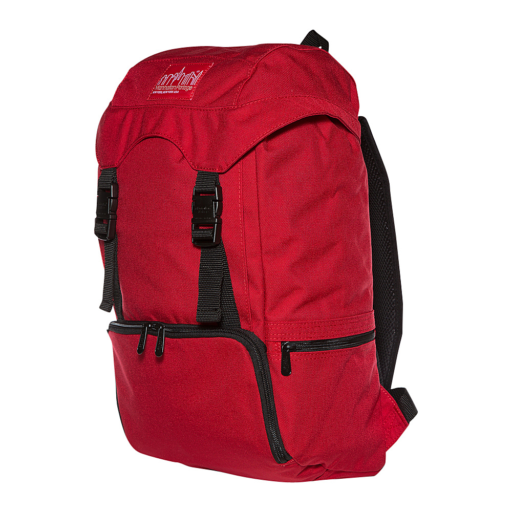 Manhattan Portage Hiker Backpack JR Red - Manhattan Portage Day Hiking Backpacks
