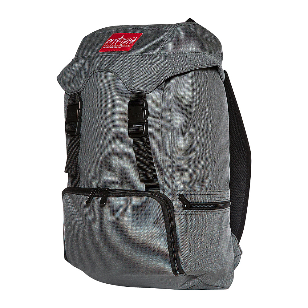 Manhattan Portage Hiker Backpack JR Gray - Manhattan Portage Day Hiking Backpacks