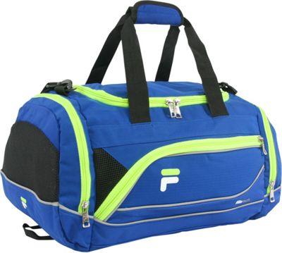 Fila Sprinter Small Sport Duffel Bag Blue/Neon - Fila Gym Duffels