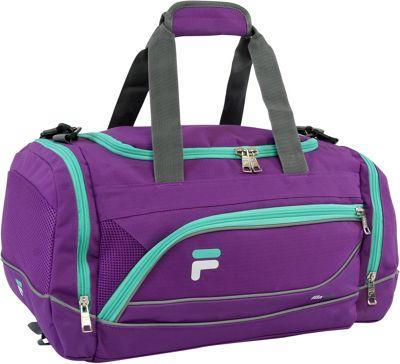 Fila Sprinter Small Sport Duffel Bag Purple/Teal - Fila Gym Duffels