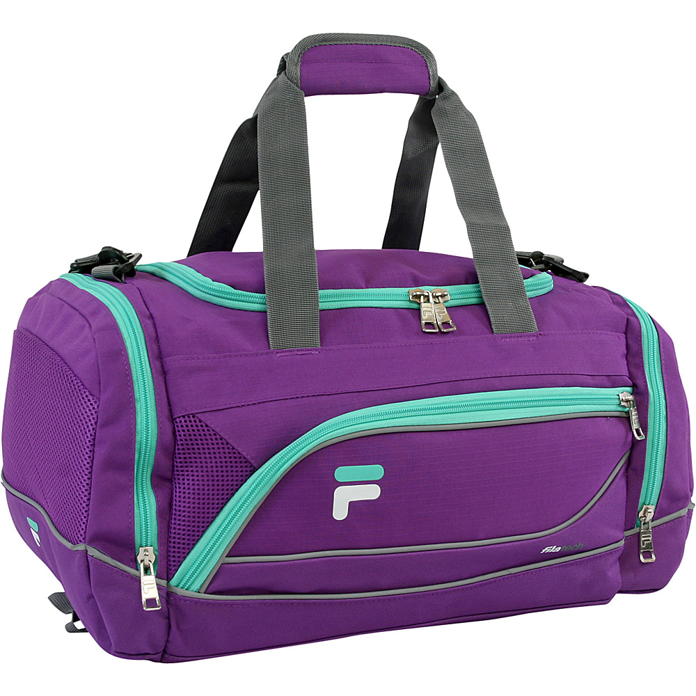 Fila Sprinter Small Sport Duffel Bag Purple/Teal - Fila Gym Duffels