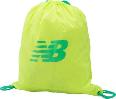 New Balance Gymsack Backpack Lime Glo - New Balance Everyday Backpacks