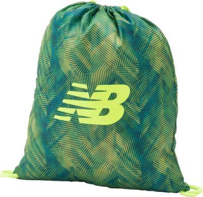 New Balance Gymsack Backpack Stripe Grad Print - New Balance Everyday Backpacks