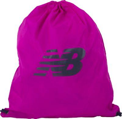 New Balance Gymsack Backpack Poisonberry - New Balance Everyday Backpacks