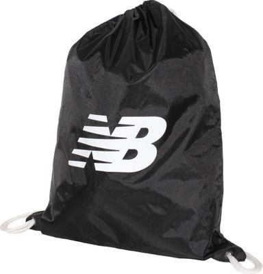 New Balance Gymsack Backpack Black - New Balance Everyday Backpacks