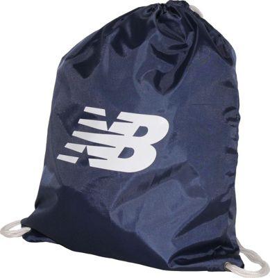 New Balance Gymsack Backpack Navy - New Balance Everyday Backpacks