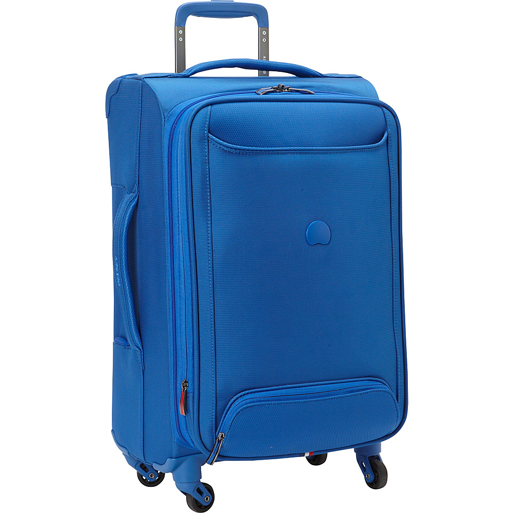Delsey Chatillon Carry-on Exp. Spinner Trolley Royal Blue - Delsey Softside Carry-On