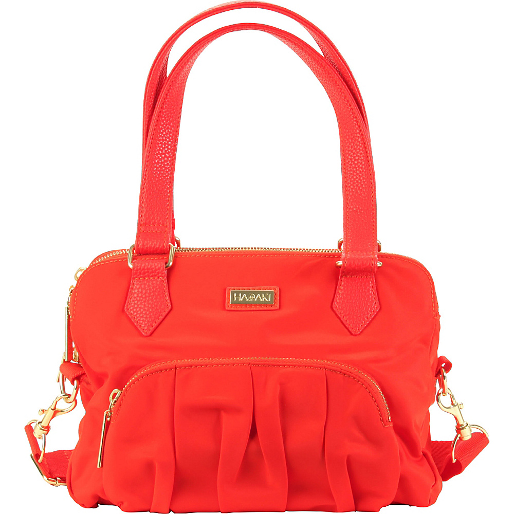 Hadaki French Quarter Sac Fiery Red Solid - Hadaki Fabric Handbags - Handbags, Fabric Handbags