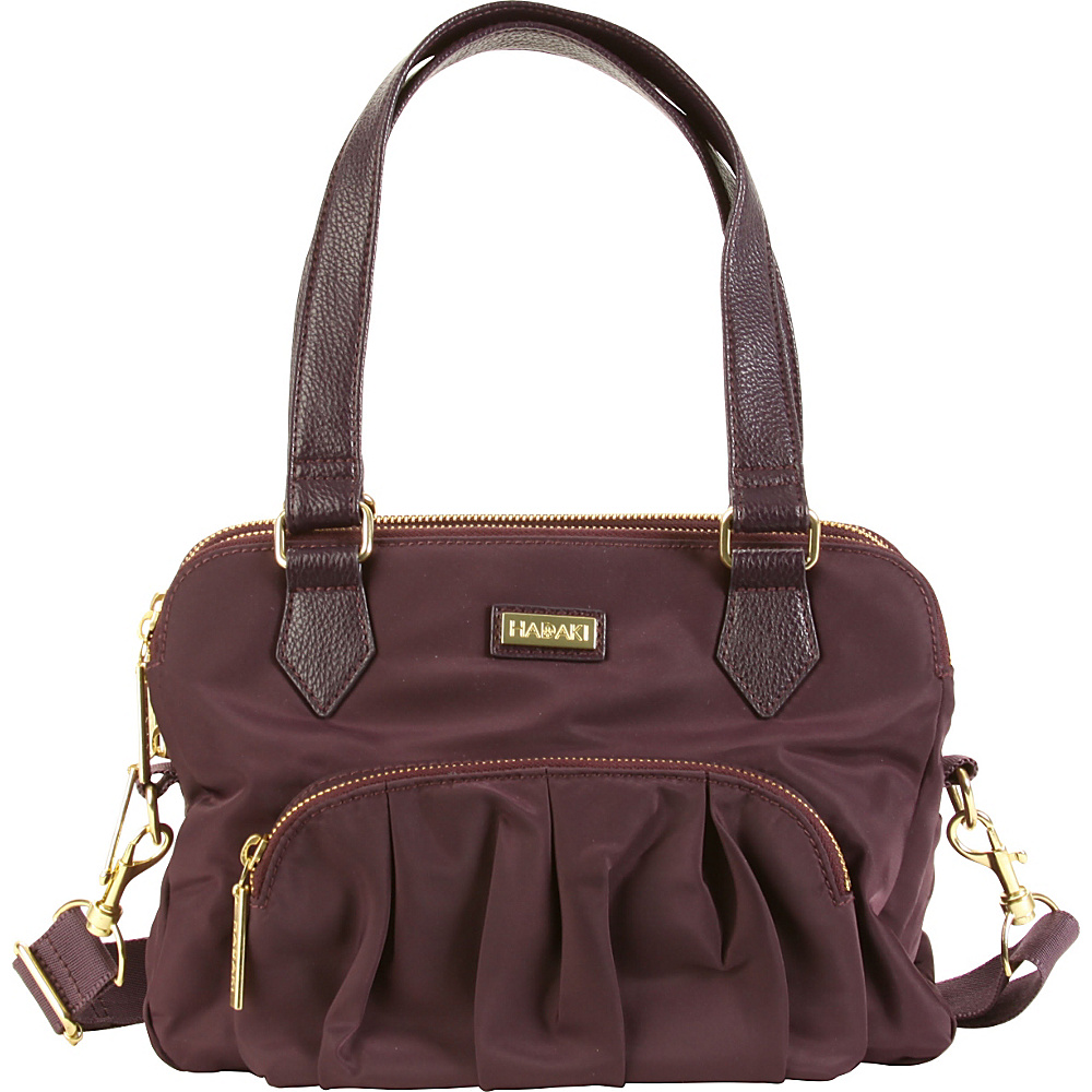 Hadaki French Quarter Sac Plum Perfect Solid - Hadaki Fabric Handbags - Handbags, Fabric Handbags