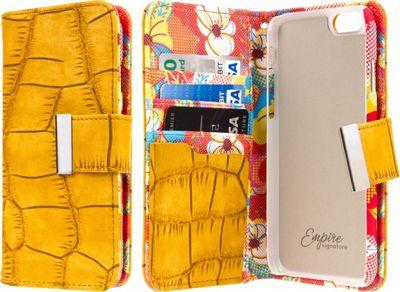 EMPIRE KLIX Klutch Designer Wallet Cases Apple iPhone 6 / iPhone 6S Vintage Flower Pop! - EMPIRE Electronic Cases