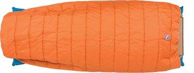 Big Agnes Big Agnes Buffalo Park 40 Thermolite Extra Sleeping Bag Apricot - Long - Big Agnes Outdoor Accessories