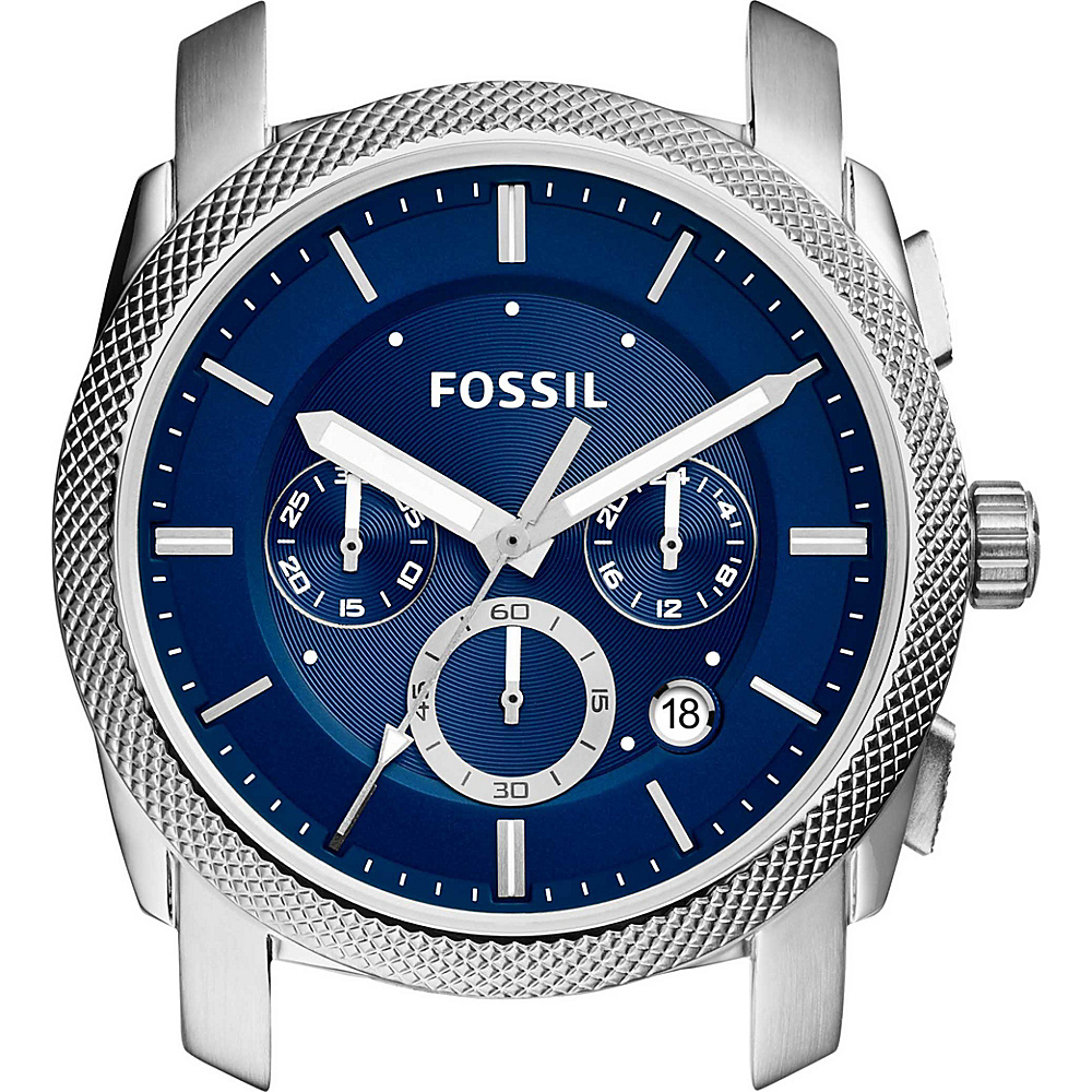 Fossil Machine Chronograph Case Silver - Fossil Watches - Fashion Accessories, Watches