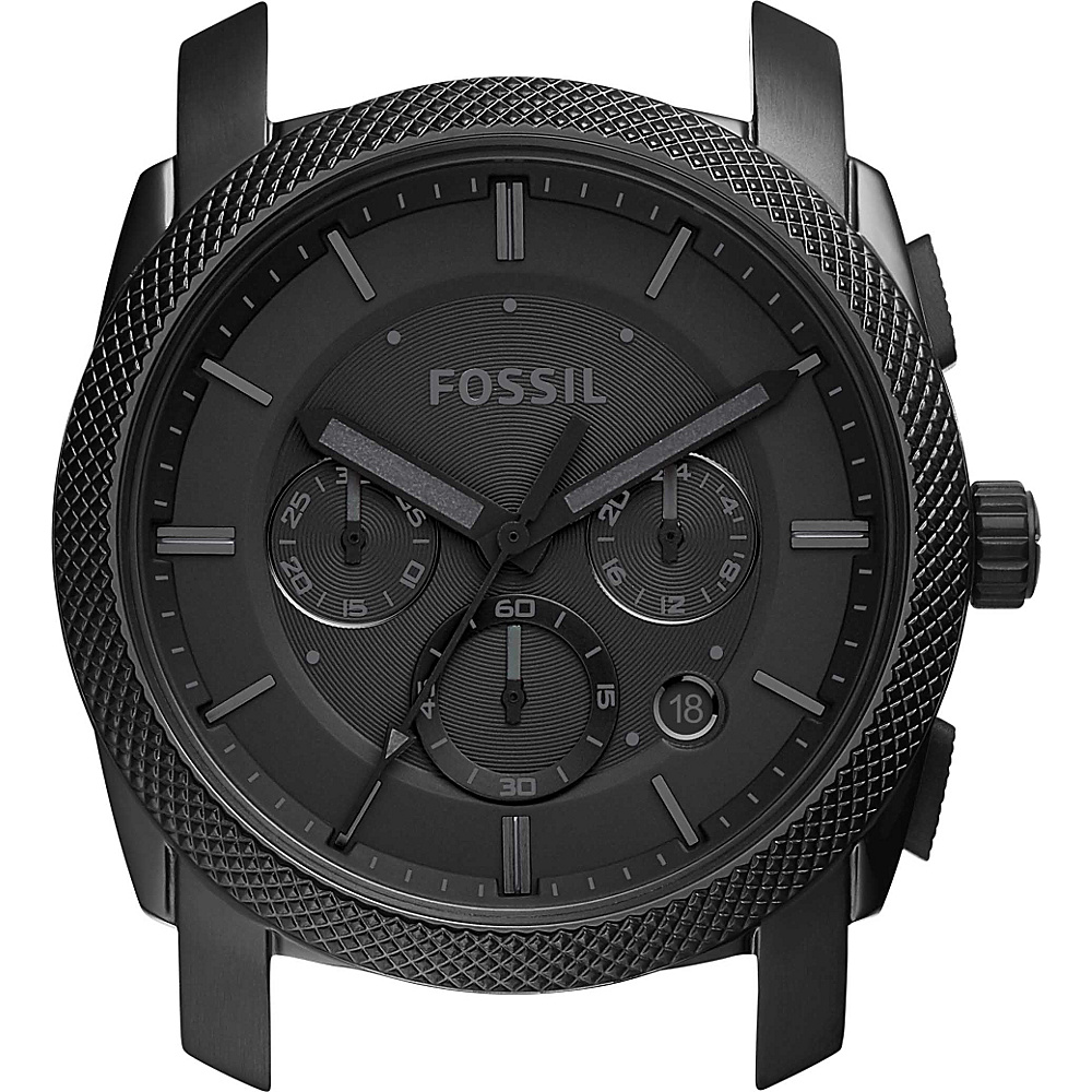 Fossil Machine Chronograph Case Black - Fossil Watches - Fashion Accessories, Watches
