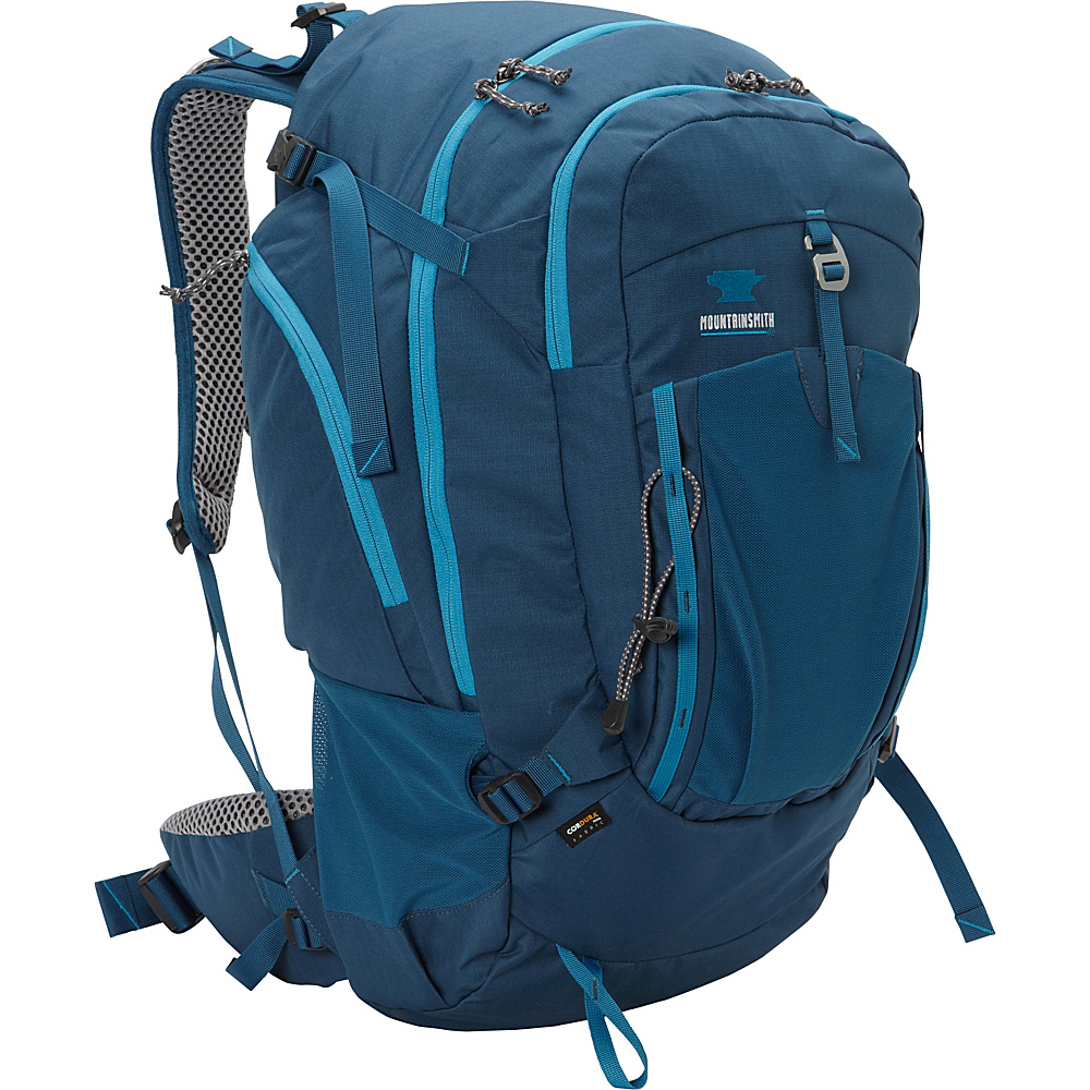 Mountainsmith Approach 45 Hiking Backpack Moroccan Blue Mountainsmith Day Hiking Backpacks