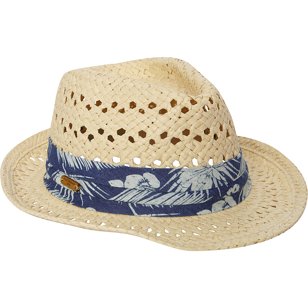 Sun 'N' Sand Hampton Palms Hat One Size - Natural - Sun 'N' Sand Hats/Gloves/Scarves