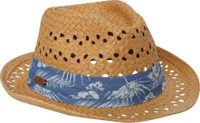 Caribbean Joe Accessories Hampton Palms Hat One Size - Tan - Caribbean Joe Accessories Hats/Gloves/Scarves
