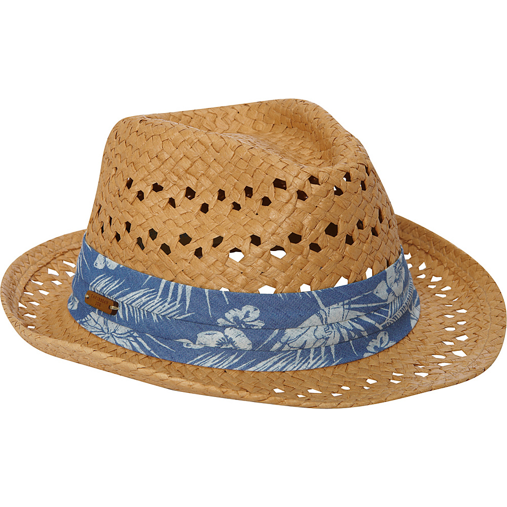 Sun N Sand Hampton Palms Hat One Size - Tan - Sun N Sand Hats/Gloves/Scarves - Fashion Accessories, Hats/Gloves/Scarves