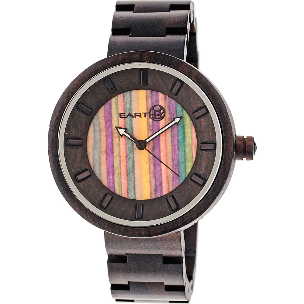 Earth Wood Root Wood Unisex Watch Dark Brown Earth Wood Watches