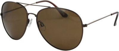 CB Sport Aviator Sunglasses Shiny Copper with Brown Lenses - CB Sport Sunglasses