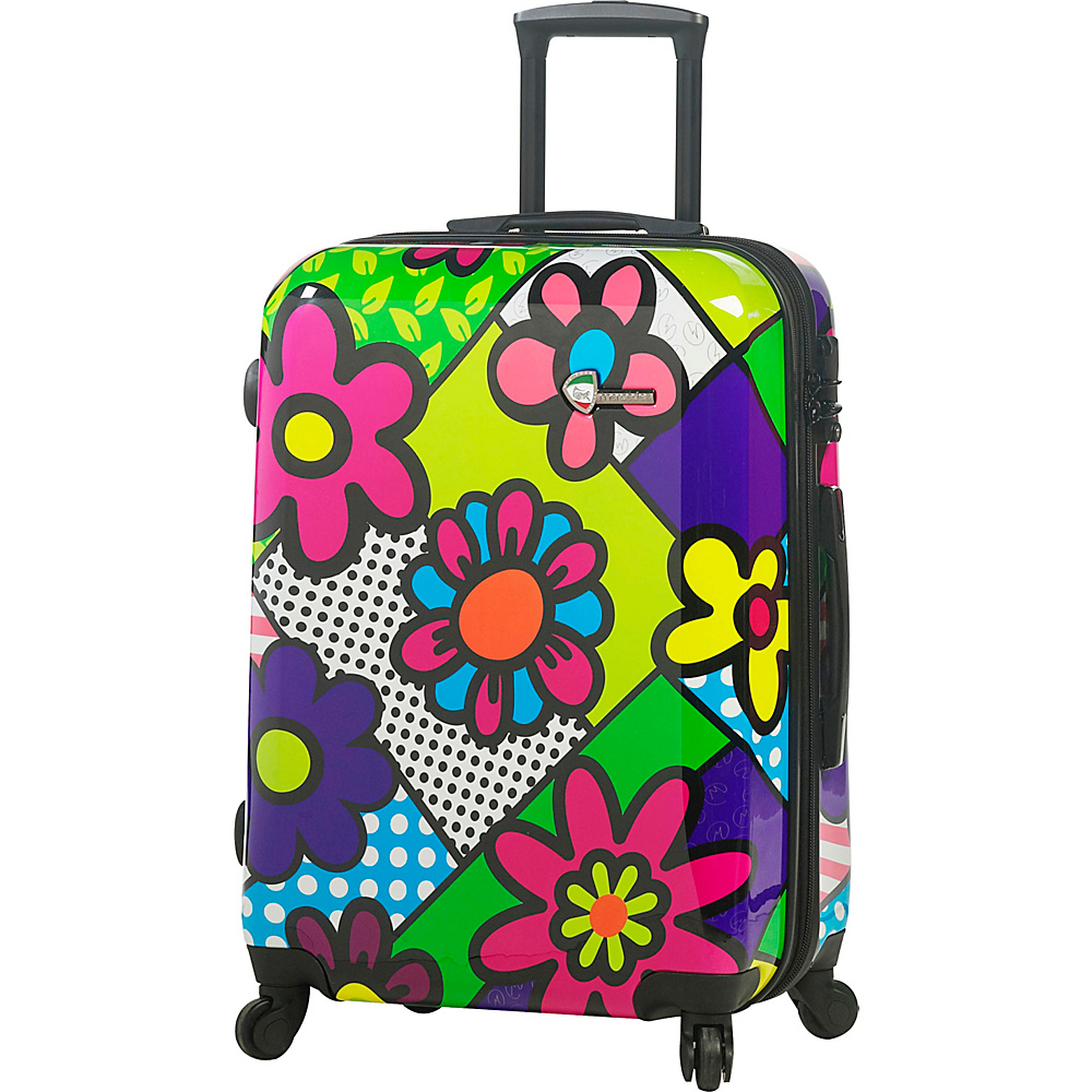 Mia Toro ITALY Flowery 24 Luggage Multicolor Mia Toro ITALY Hardside Checked